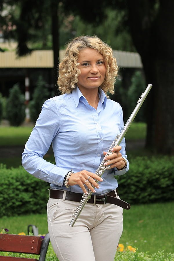 Sylwia Lorenc - flute lessons Warsaw