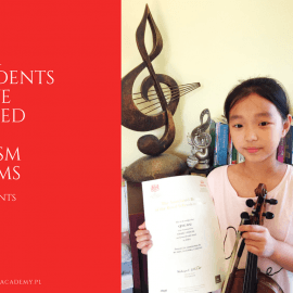 All Our Students Have Passed The ABRSM Exams