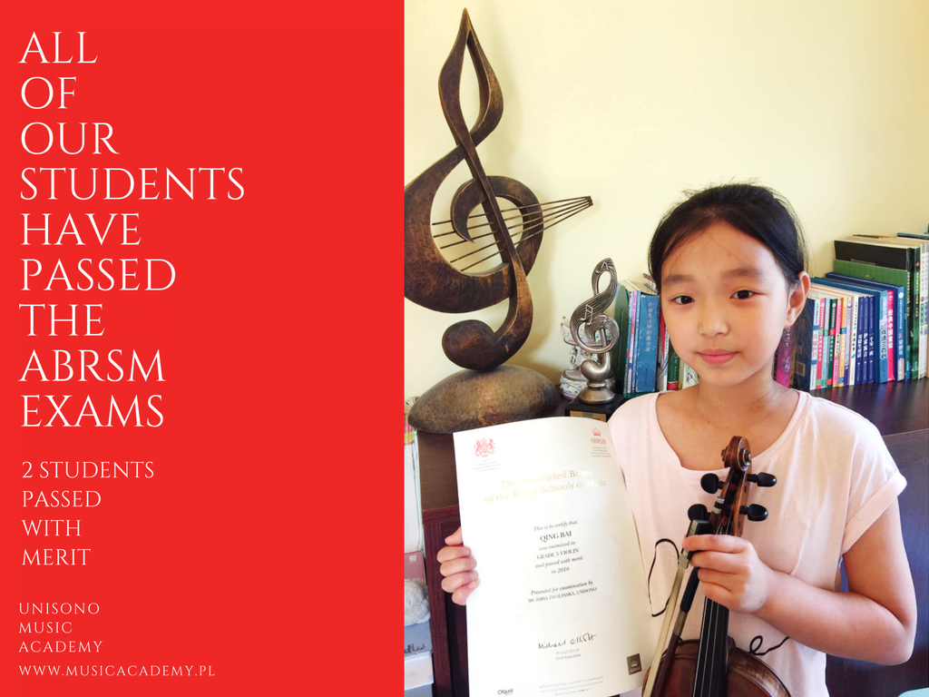 All Students Have Passed The ABRSM Exams