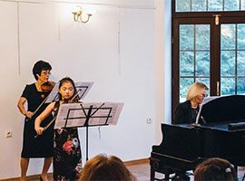 50th Anniversary of the pedagogical and artistic activity of Zofia Zwolińska concert - music school Warsaw