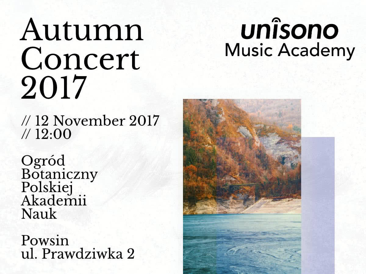 Invitation to Autumn Concert 2017