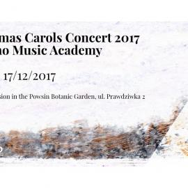 Invitation For Christmas Carols Concert 2017