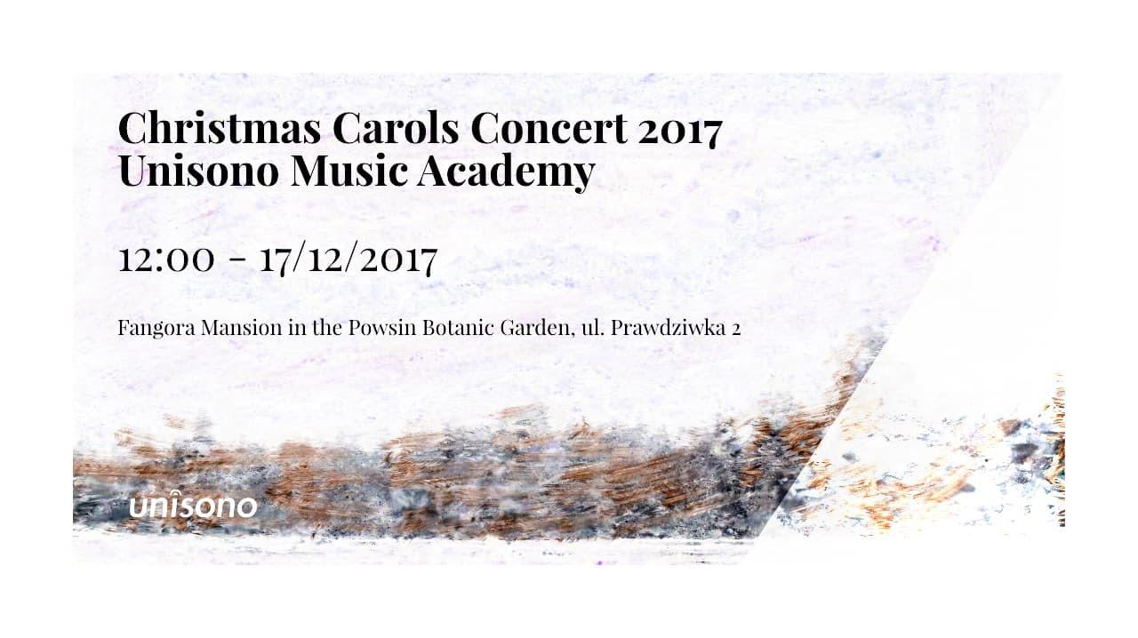 Invitation For Christmas Carols Concert 2017