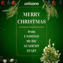 Christmas Wishes from Unisono Music Academy 2017
