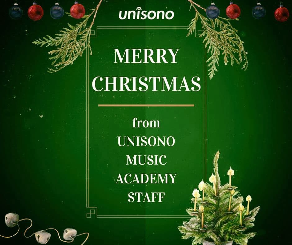 Christmas Wishes from Unisono Music Academy