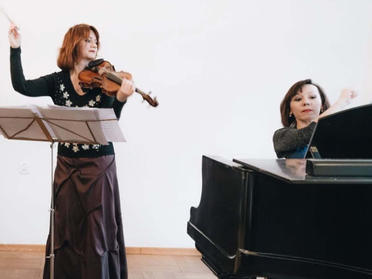 Joanna Okoń and Katarzyna Glensk - New Year Concert Crystal Sounds