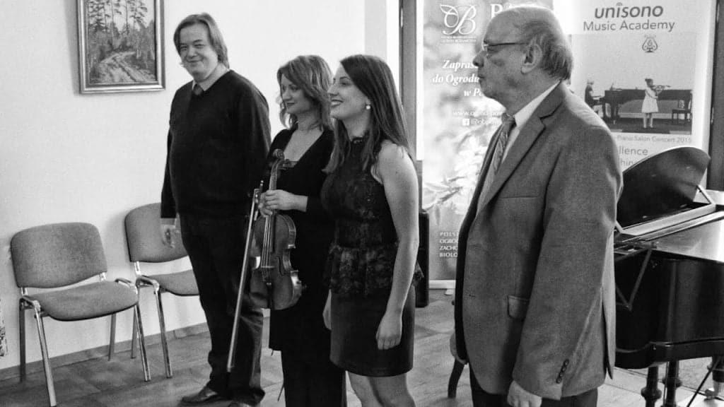 Teacher's Concert at Fangor Manor House 2019