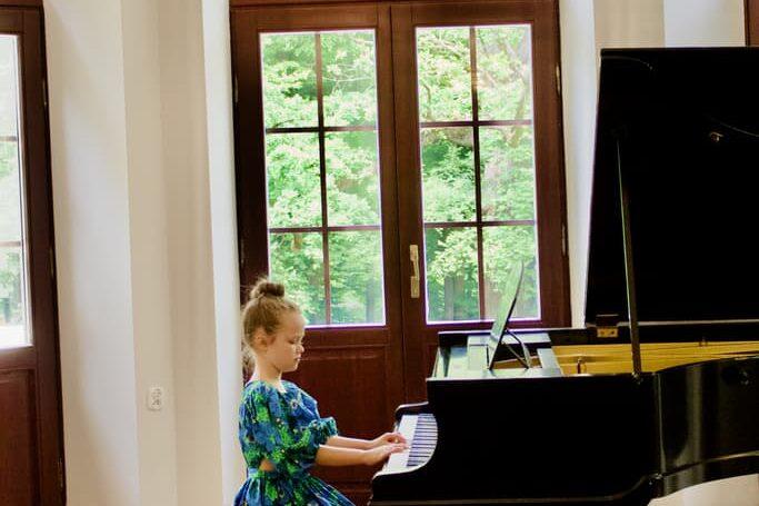 student of piano class Unisono, Pałac Fangora PAN, concert 2