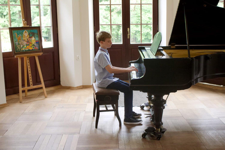 Unisono piano class student, Pałac Fangora PAN, concert, piano, annual concert 2021 Unisono