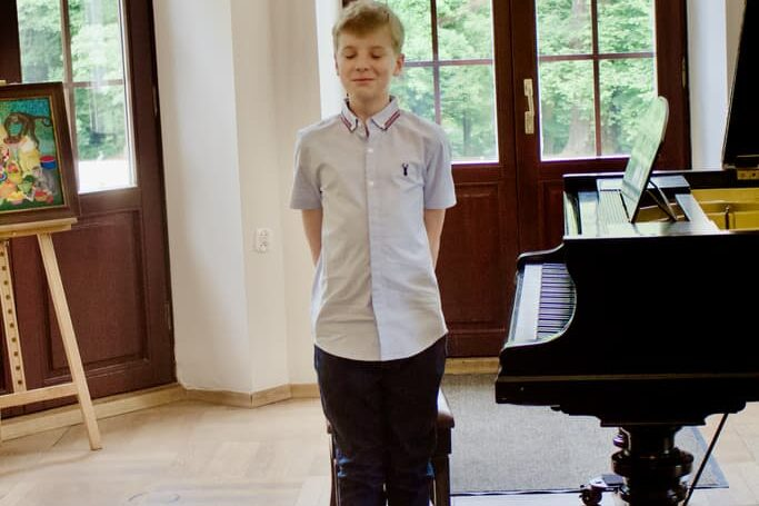 2 Unisono piano class student, Pałac Fangora PAN, concert, piano, annual concert 2021 Unisono