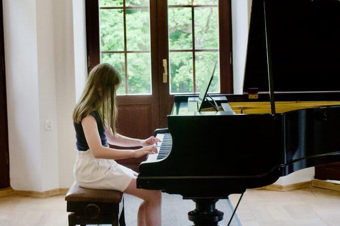 student of piano class Unisono, Pałac Fangora PAN - concert